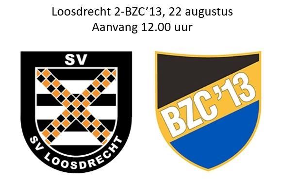 22 augustus Loosdrecht 2- BZC'13 1