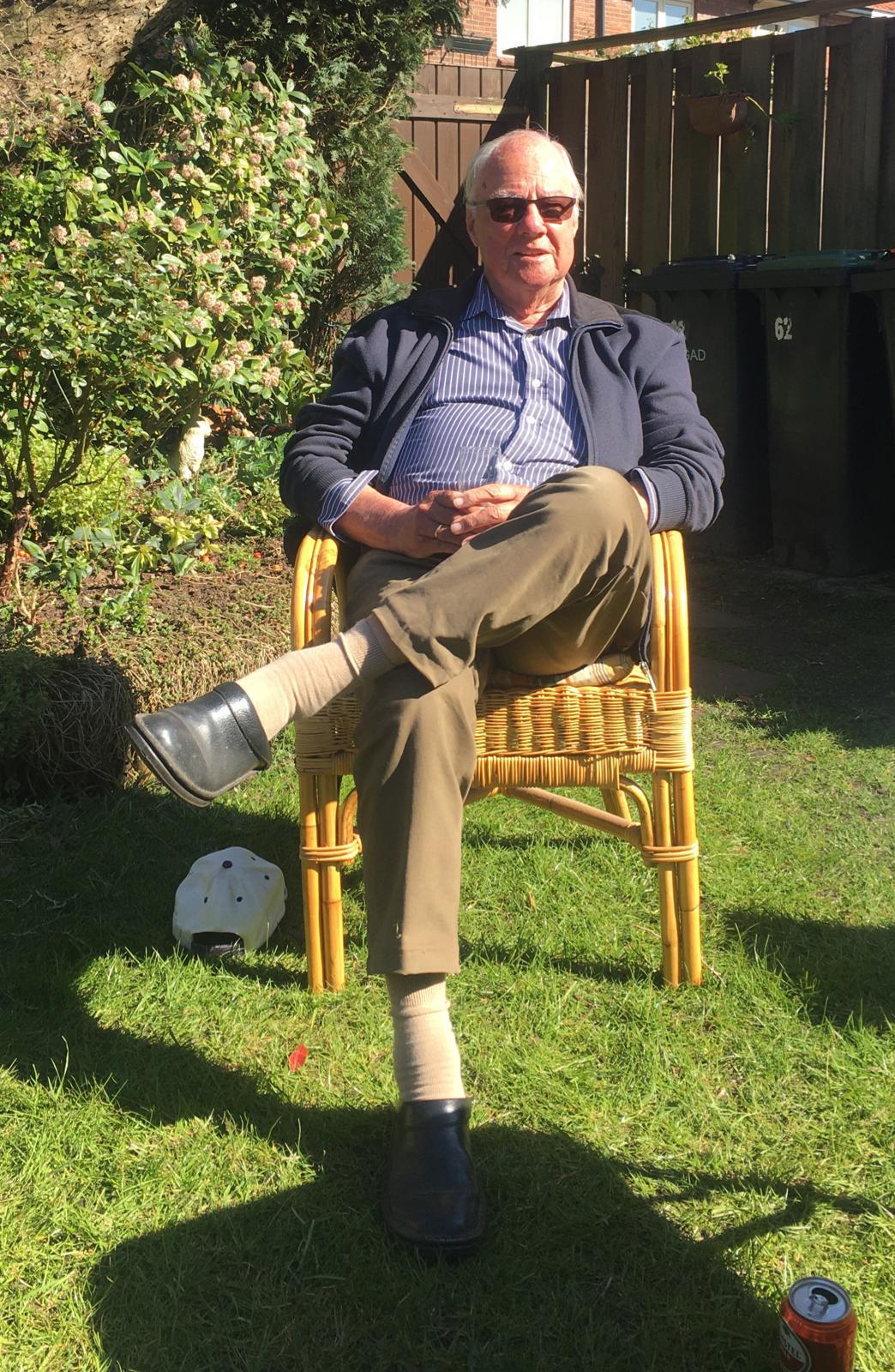 Verjaardag Gerrit 'Vriend Li' de Lange niet ongemerkt voorbij.